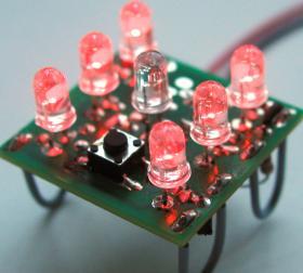 Elektronischer Würfel / Experimentierwürfel