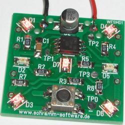 Bausatz: Elektronischer Wurfel SMD